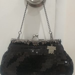 NWOT Anna Sui sequin clutch